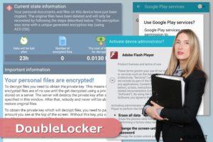 DoubleLocker lunnasohjelma virus