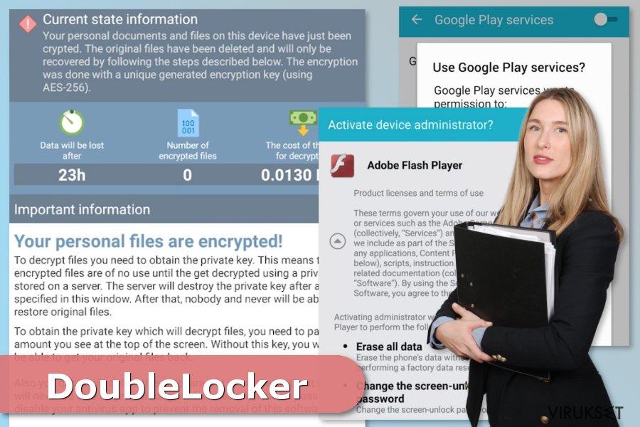DoubleLocker lunnasohjelma hyökkäyksen kuva