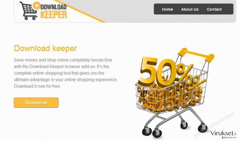 Download Keeper mainokset kuvankaappaus