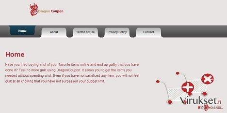 DragonCoupon virus kuvankaappaus