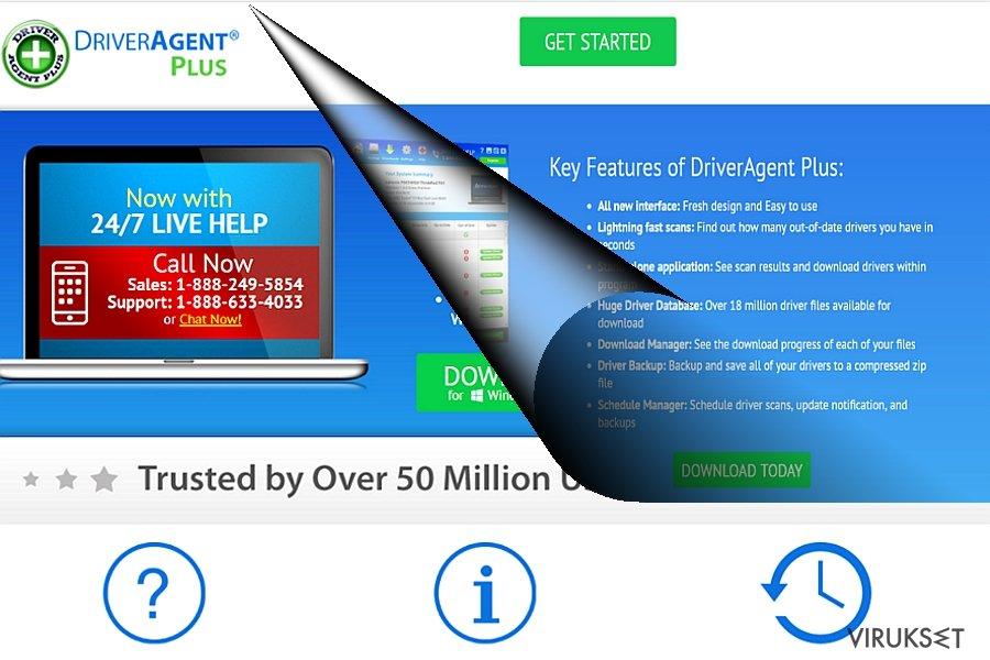 DriverAgent Plus esimerkki
