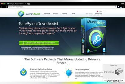 Driver Assist SafeBytes yritykseltä