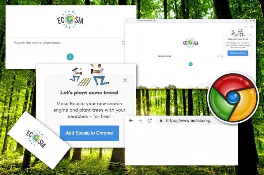 Ecosia.org virus kuvankaappaus