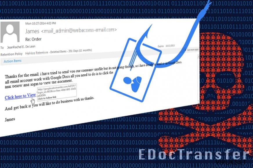 EdocTransfer scam