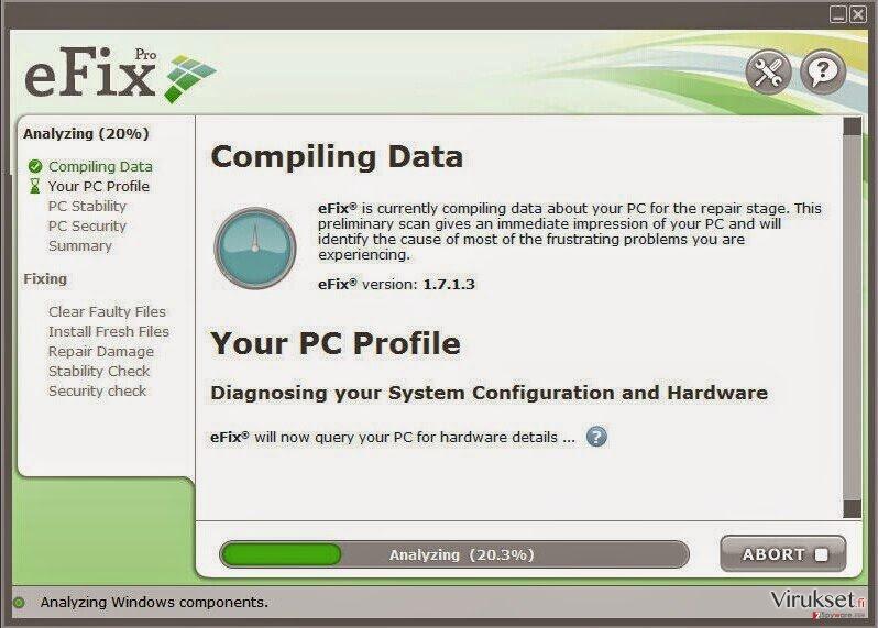 eFix Pro kuvankaappaus