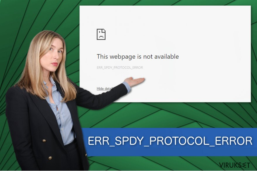 ERR_SPDY_PROTOCOL_ERROR kuva