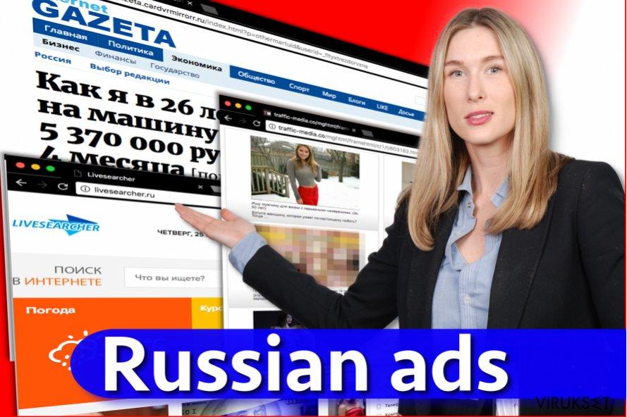 Russian mainokset virus