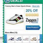 SaveDeals mainokset kuvankaappaus