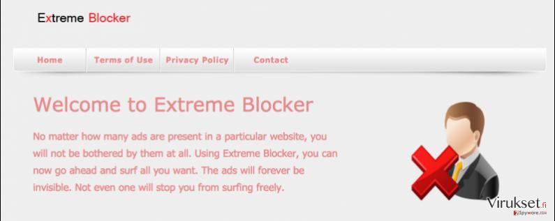 Extreme Blocker virus kuvankaappaus