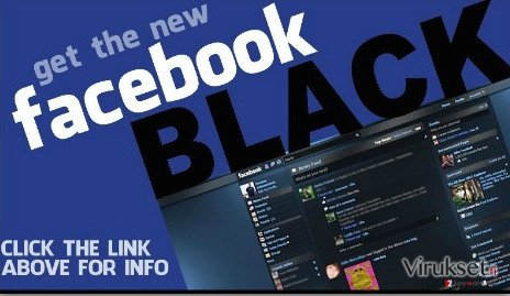 Facebook Change Color virus kuvankaappaus