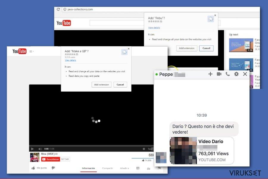 Facebook haittaohjelma voi huijata ihmiset asentamaan vaarallisia liitteitä tai laajennuksia.