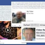 Facebook video virus kuvankaappaus