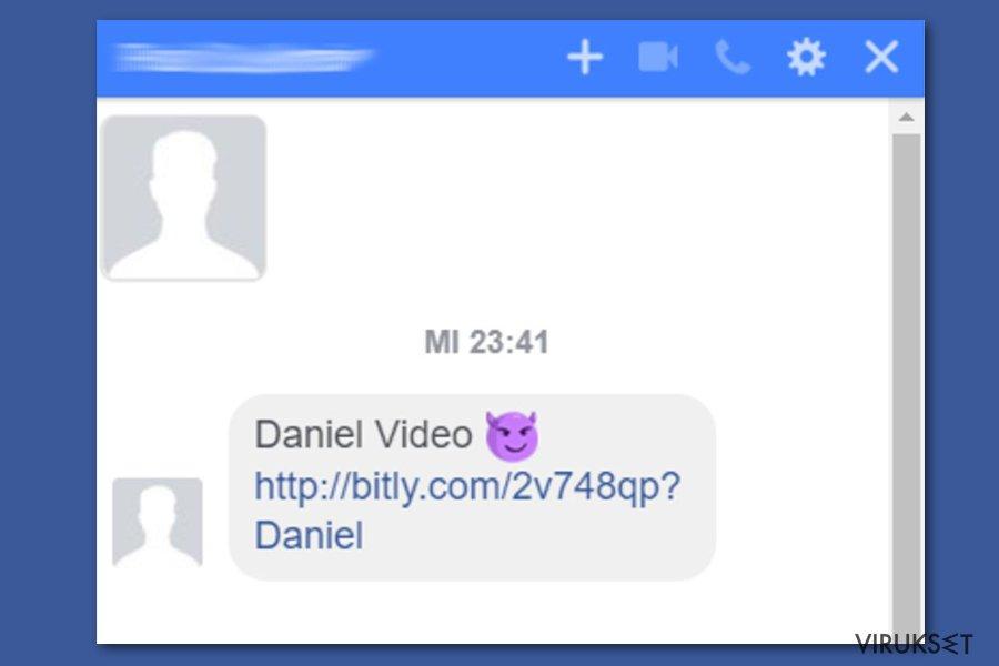 Facebook video virus spreads