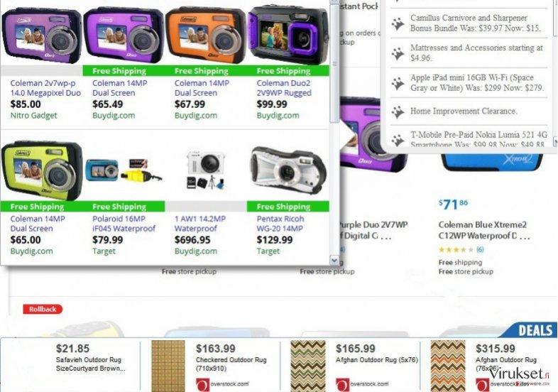 FastSaler mainokset kuvankaappaus