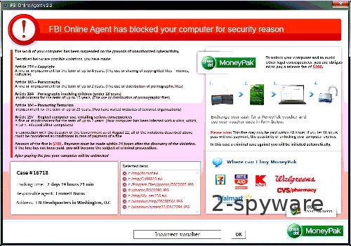 FBI Online Agent kuvankaappaus