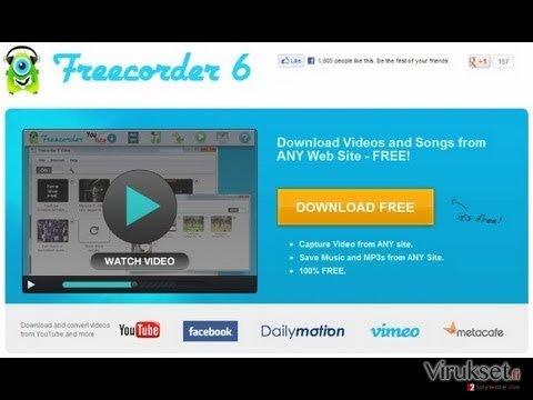 Freecorder kuvankaappaus