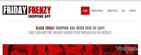 Friday Frenzy mainokset kuvankaappaus