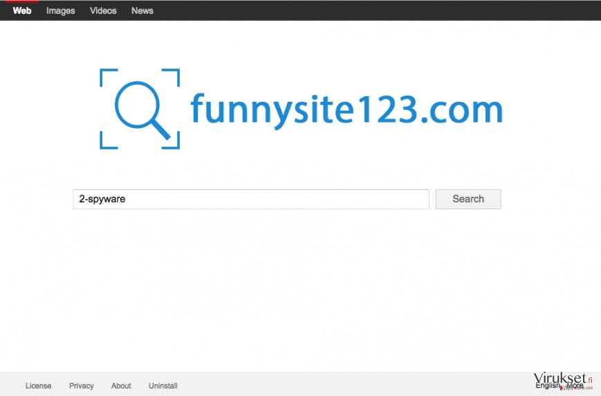 FunnySite123.com screenshot of the site