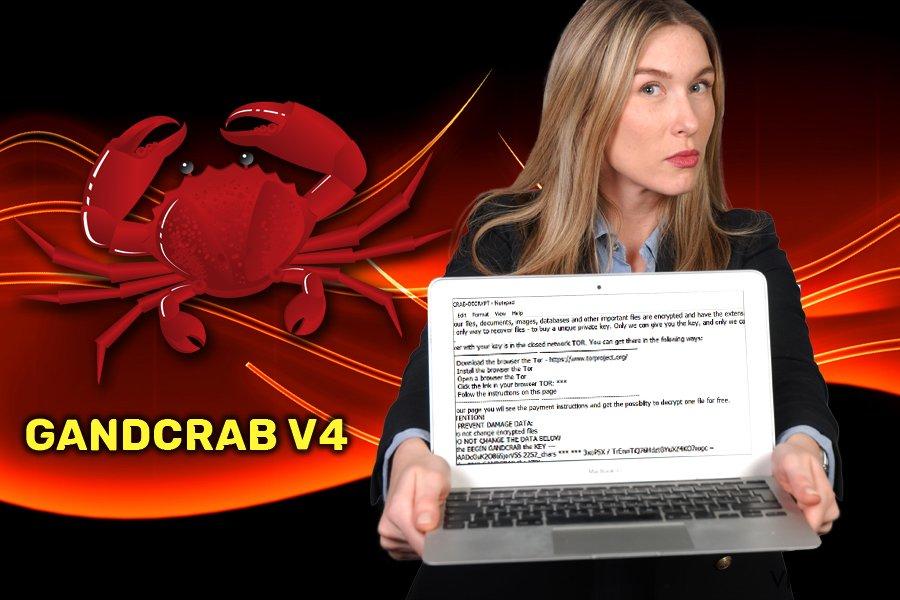 GandCrab v4 lunnasohjelma