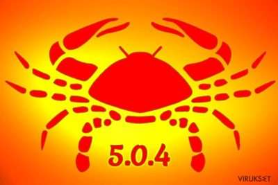 GandCrab 5.0.4 lunnasohjelma