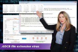 .GDCB tiedoston pääte virus