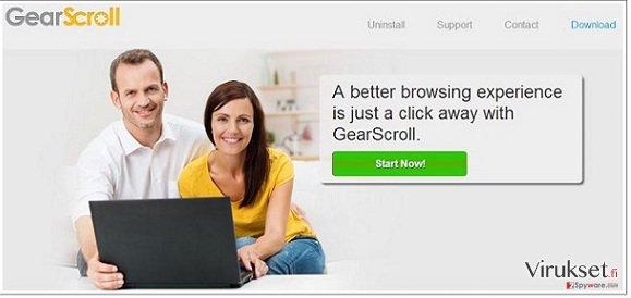 GearScroll virus kuvankaappaus