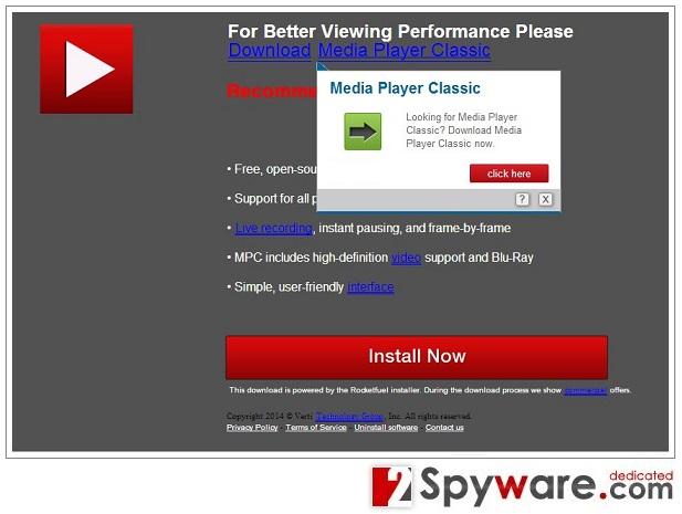Gld.PathTicket.net pop-up mainokset kuvankaappaus