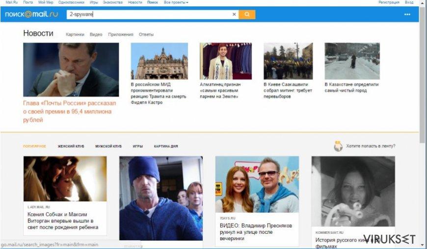 Go.mail.ru viruksen kuva
