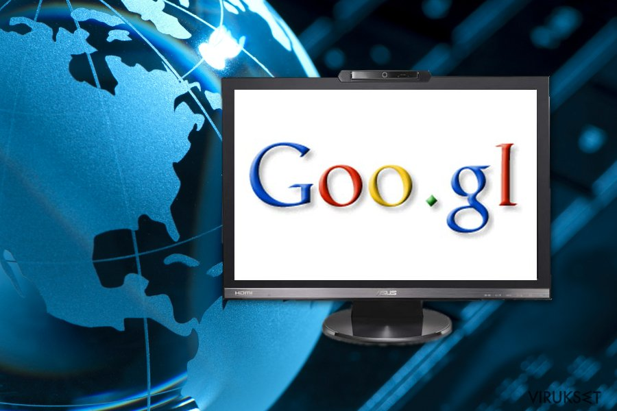 Goo.gl virus image