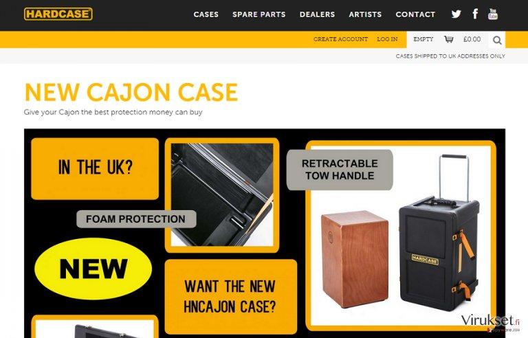 Hard Case mainokset kuvankaappaus