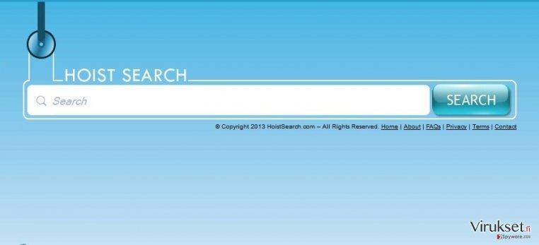 HoistSearch.com virus kuvankaappaus