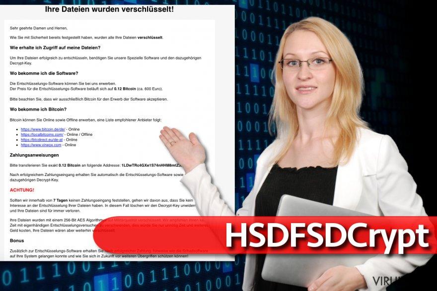 HSDFSDCrypt virus