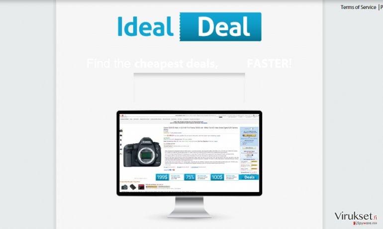 Ideal Deal mainokset kuvankaappaus