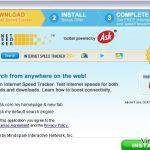 InternetSpeedTracker Työkalupalkki kuvankaappaus