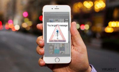 iOS viruksen kuva