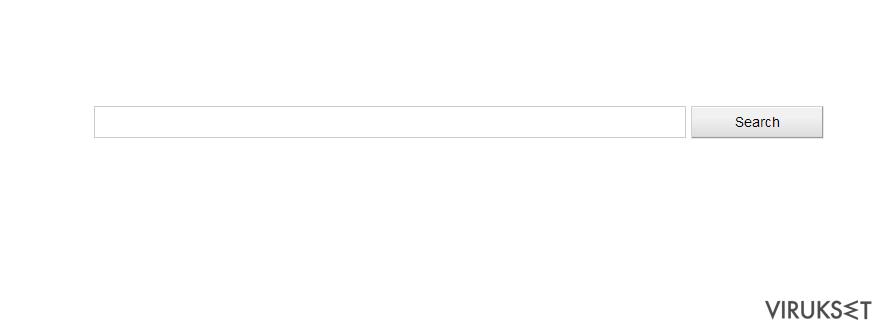 Isearch.Glarysoft.com uudelleenohjaus virus kuvankaappaus