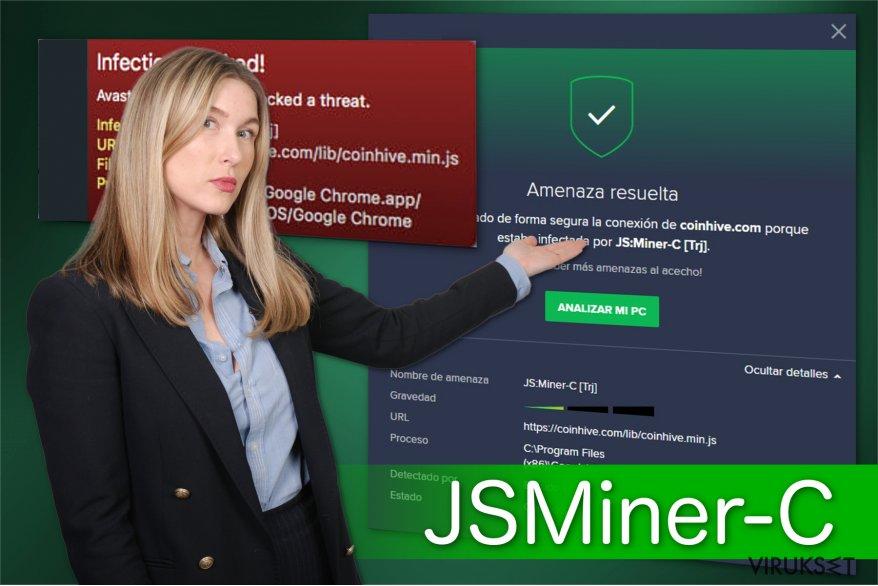 JSMiner-C troijalaisen kuva