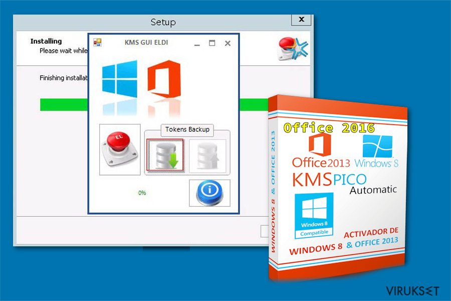 KMSPico hakkerointi työkalu
