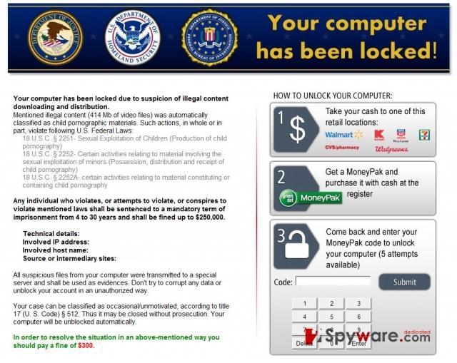 Kovter ransomware kuvankaappaus
