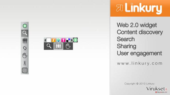 Linkury SmartBar kuvankaappaus