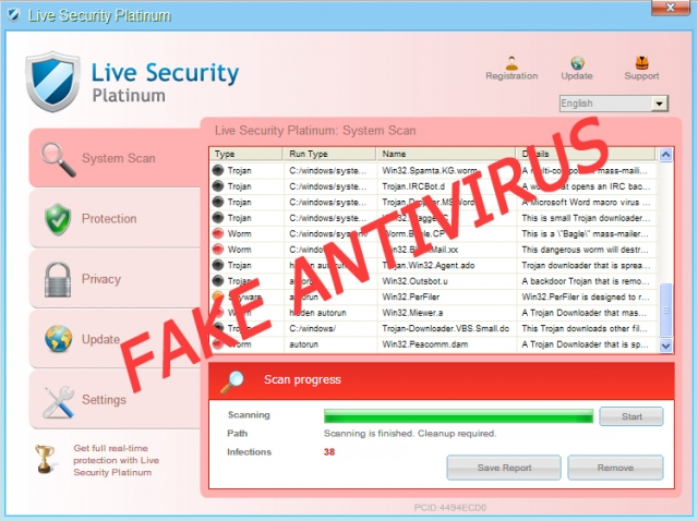 Live Security Platinum kuvankaappaus