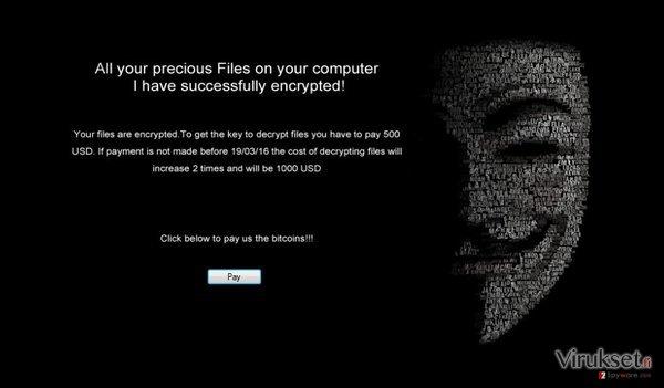 The ransom note of .Locked virus