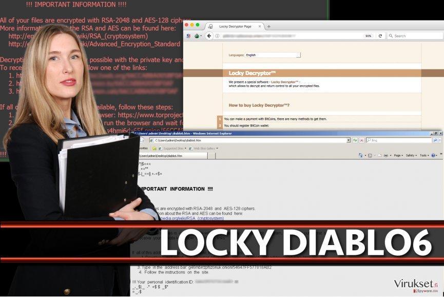 Locky Diablo6 virus