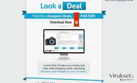 Looka Deal mainokset kuvankaappaus