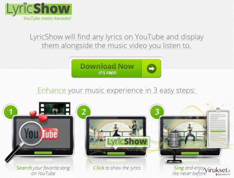 Ads by LyricShow virus kuvankaappaus