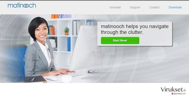 Matinooch virus kuvankaappaus