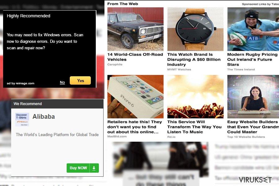 Maxon Click esimerkkejä
