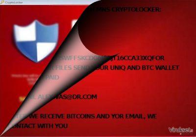 Onko MNS CRYPTOLOCKER sukua CryptoLocker virukselle?