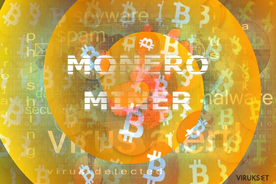 Kuva joka näyttää Monero Miner konseptin