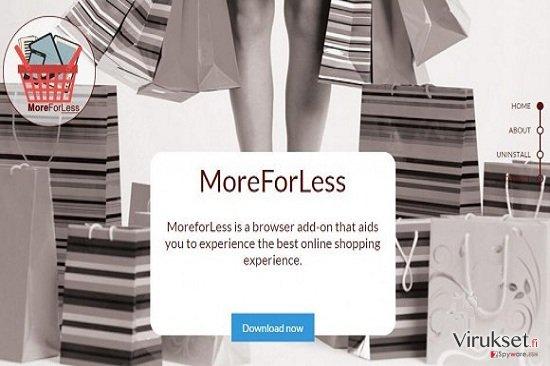MoreForLess mainokset kuvankaappaus
